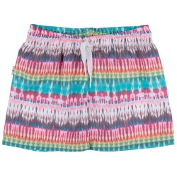 Boys Tie-Dye Print Swim Shorts
