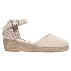 Girls Beige Espadrille Sandals