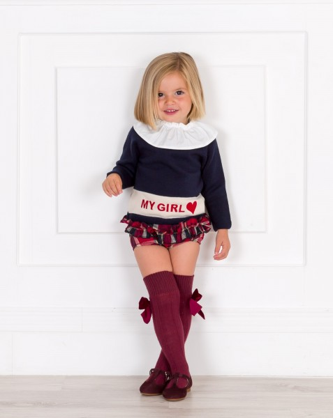 My Girl Sweater & Shorts Outfit