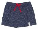 Blue & White Polka Dot Swim Shorts