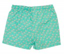 Green & Pink Flamingo Swim Shorts