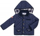 Boys Blue Quilted Jacket