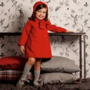Red Coat With Bow