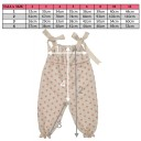 Beige & Pink Polka Dot Ruffle Jumpsuit with bows
