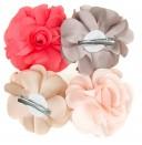Satin Flower Hair Clip (4,5cm)