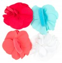 Flower Lycra Washable Hair Elastic