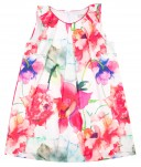 Colourful Floral Print Shift Dress