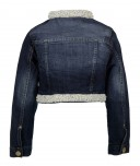 Pearl Blue Denim Jacket