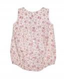 Pink & Beige Floral Shortie