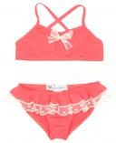 Girls Coral Bikini