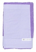 Purple & Polka Dot Towel With Pocket