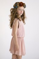 Vestido Elena Rosa Empolvado