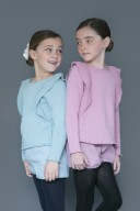 Girls Pale Pink Knitted Sweater