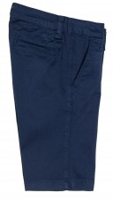 Boys Navy Blue Cotton Shorts