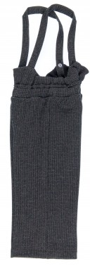 PLAY UP  Culotte Niña Interlock Cuadros Negro & Gris