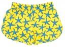 Yellow & Blue Starfish Swim Shorts