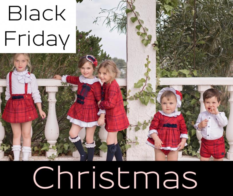 Christmas kids fashion shop