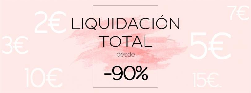 Liquidación total hasta -90% Ropa infantil