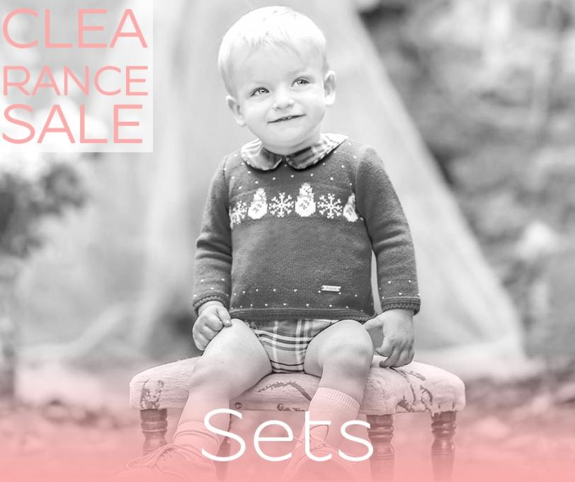 Outfit sets for babies, boys and girls