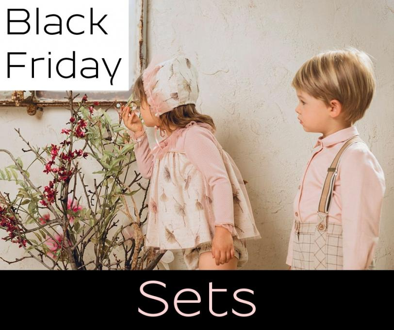 Black Friday outfit sets for boys and girls