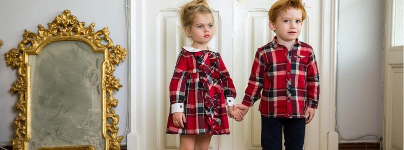Tendencia Cuadors y Tartanes ropa infantil