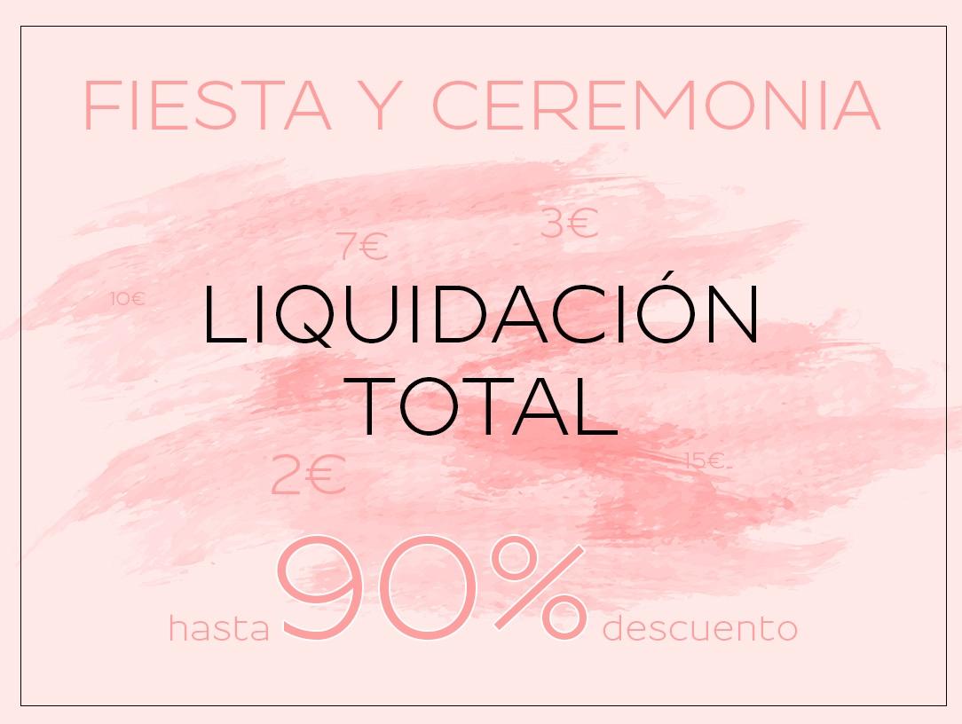 Hasta el 90% Liquidación Fiesta Y Ceremonia