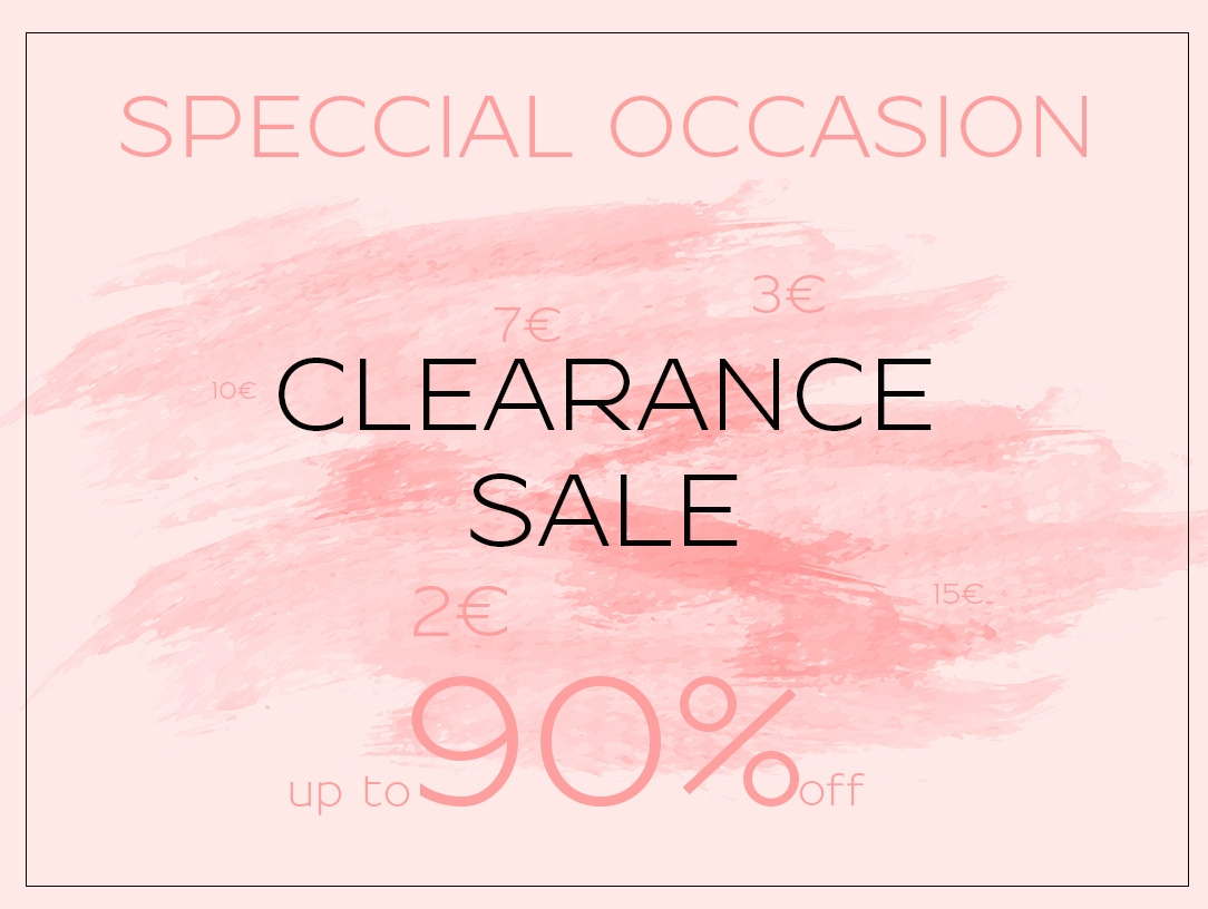 Special Occasionn Clearance Sale