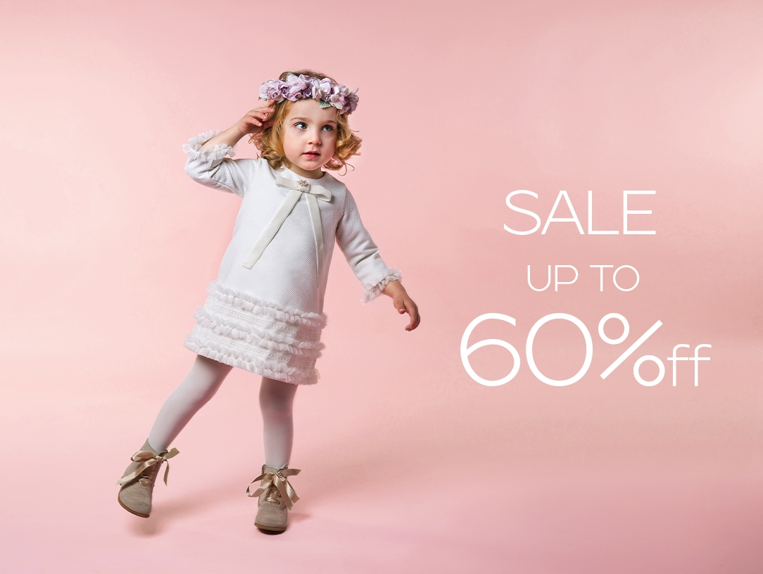 Sale up to 60% off Designer kids cloths for Girls size 0 to 16 years