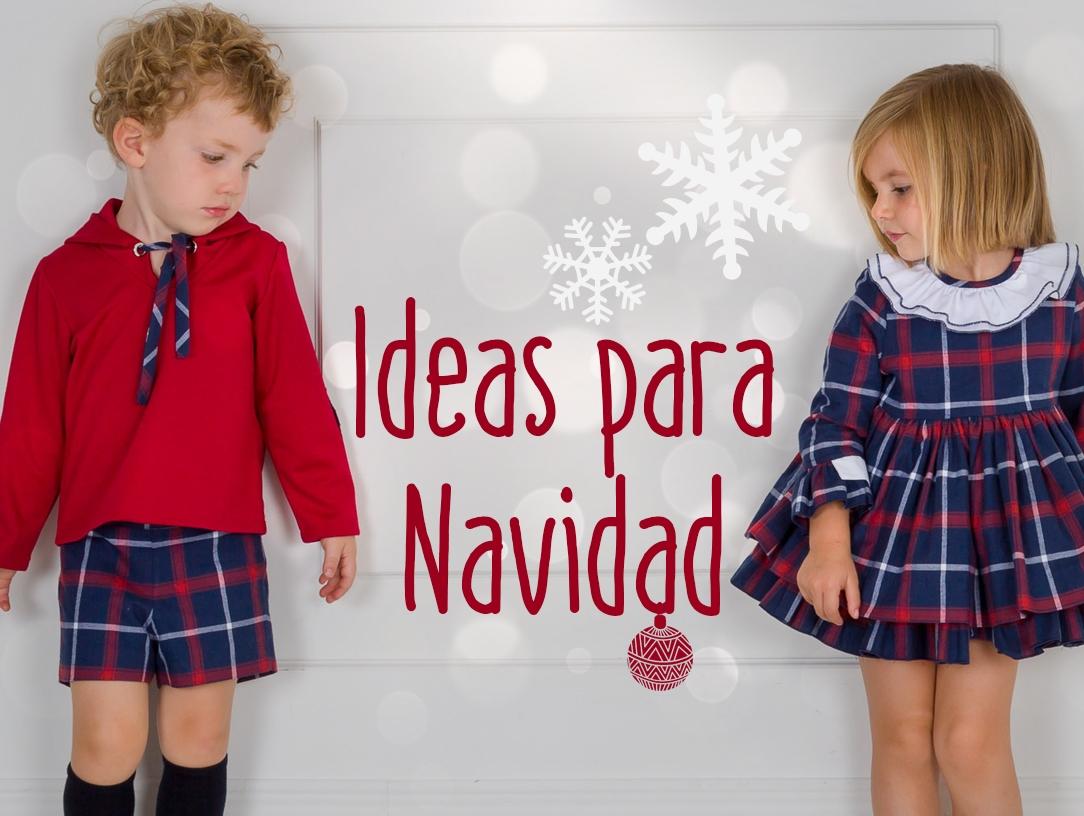 Ideas de Navidad para vestir a los pequeños de la casa