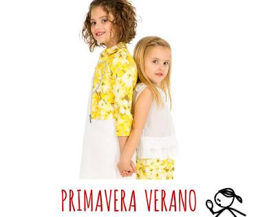 Outlet Primavera Verano ropa infantil