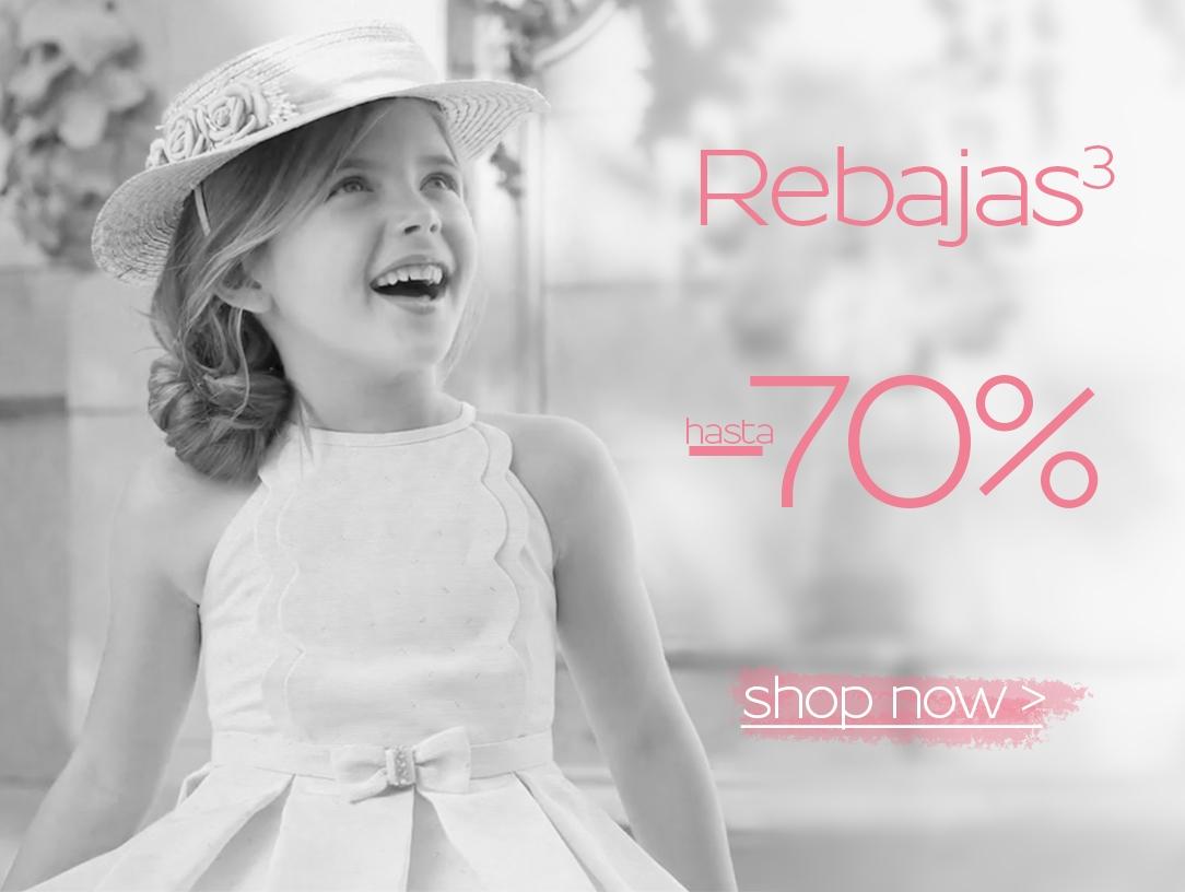 Hasta 70% de descuento en ropa para niños
