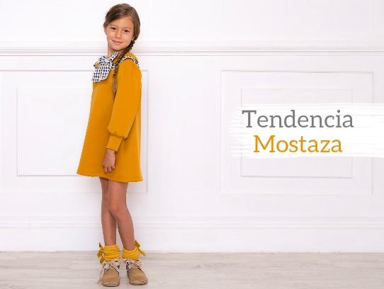 Tendencia Mostaza Ropa Infantil
