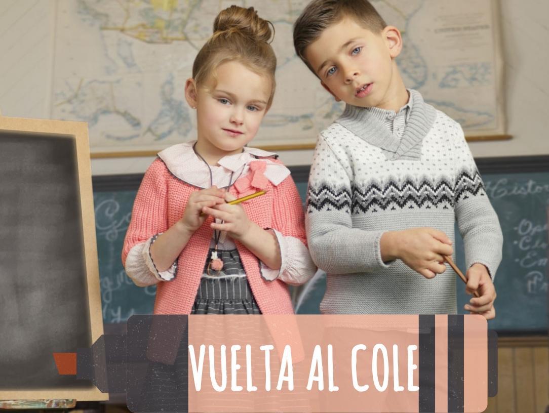 Vuelta al Cole con Estilo. Novedades en ropa para niños