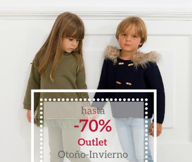 Outlet ropa infantil otoño invierno descuentos hasta 70%