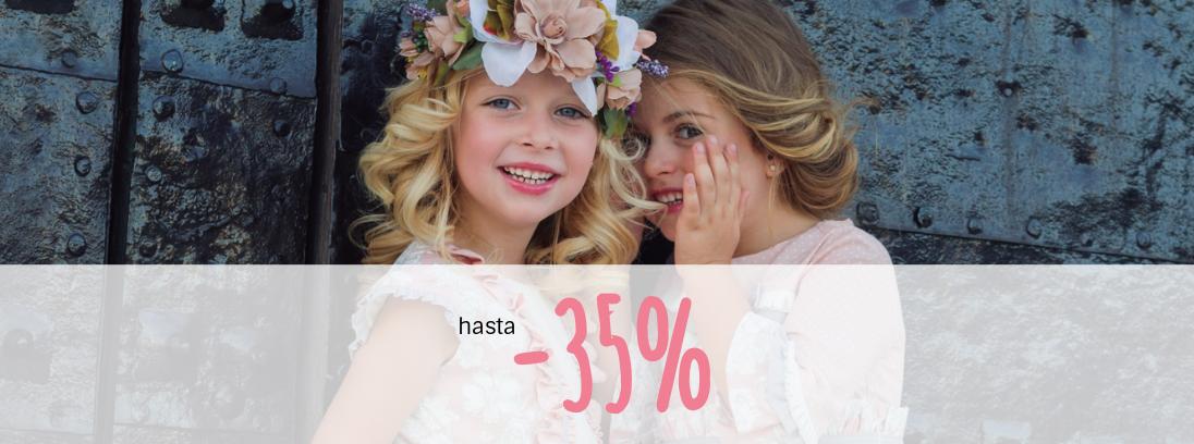 Promoción especial de hasta 35% en ropa de temporada